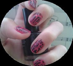 nail art craquele